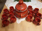 Keramik Bowle Set Vintage 60er