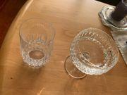 Kristall Gläser und Sektschalen