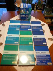8 Schülerhilfe-Abiturbücher m Formelsammlung auf