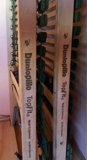 2xDunlopillo 7-Zonen Lattenroste 80x200cm