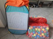 Kugelbad mit Zelt