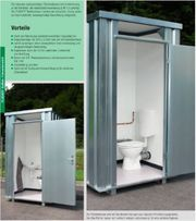 Toiletten Container