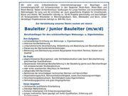 Junior Bauleiter m w d