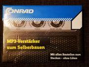 Conrad MP3-Verstärker zum Selberbauen - NEU