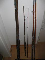 3 Oldtimer Angelruten