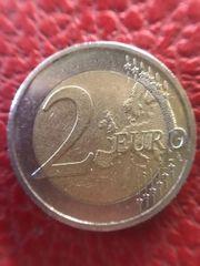 2 Euro Münze - Fehlprägung - von