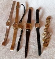 Schmuck 28 Teile - Ketten Uhren
