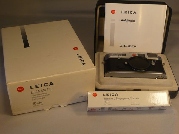 Leica M6 TTL chrom 0