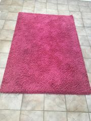 Teppich Langflor in pink
