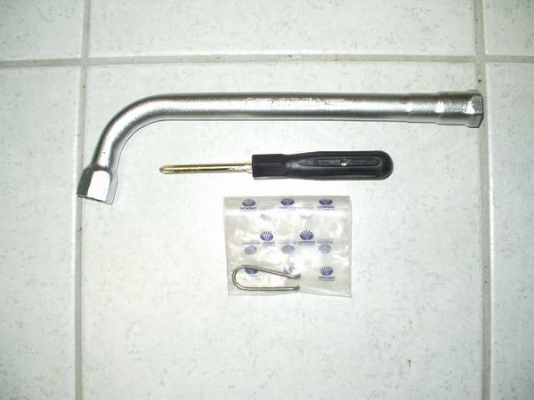 Vw Audi Hazet Youngtimer Werkzeug Neuradmutterschlüssel 431 012