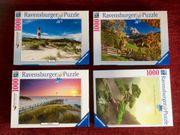 Ravensburger Puzzle 1000 Teile neuwertig