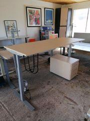 Steh-Sitz-Schreibtisch König Neurath 200 x