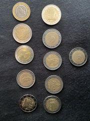 2 Euro Münzen 1 Euro