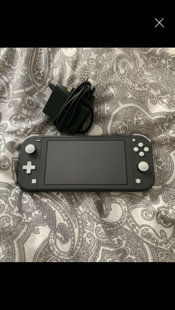 Nintendo Switch Lite Grau Zelda