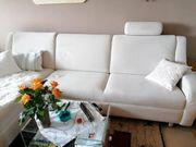 drei Sitzer Couch mit Recamiere