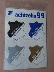 Aufkleberkarte Wappen TSG 1899