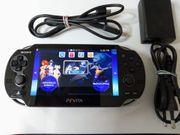 Sony Playstation Vita Konsole schwarz