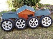 4 Stück Alufelgen mit Reifen