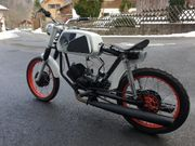 Puch M50 Coffee Racer