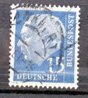 Briefmarken BRD 1960 Heuss II