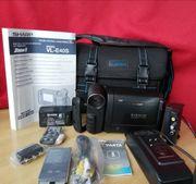 Sharp VL-E40 Videokamera mit Zubehör
