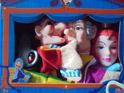 Simba Kasperlefiguren Theater Set 4er