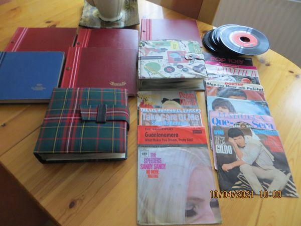 Schallplatten Konvolut 45er Singles 50-70er