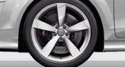 Winter-Aluminium-Gussräder im 5-Arm-Rotor-Design für Audi