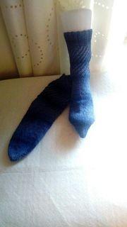 privater Verkauf handgestrickte Socken Größe