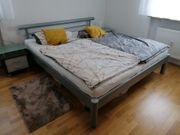 Schönes Doppelbett Metallbett 180x200 mit