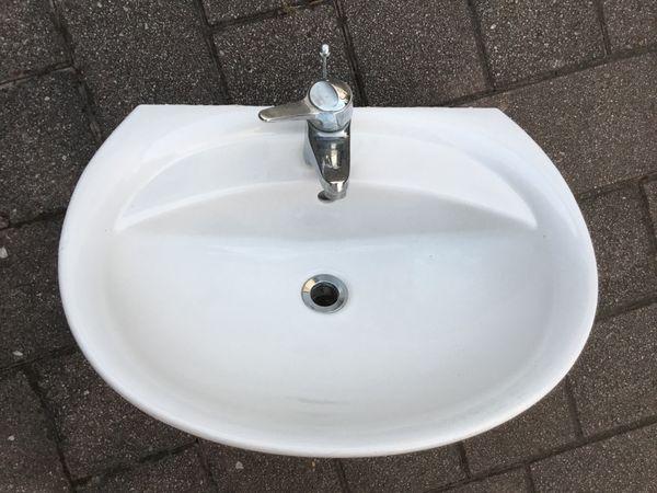 Super Waschbecken Duravit 60 cm gebraucht in Lauffen - Bad, Einrichtung IU08