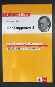 Der Steppenwolf Lektürehilfen Klett