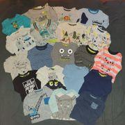 60 Teile Kleidungspacket Gr 62-68