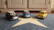 3x Mini Cooper I love