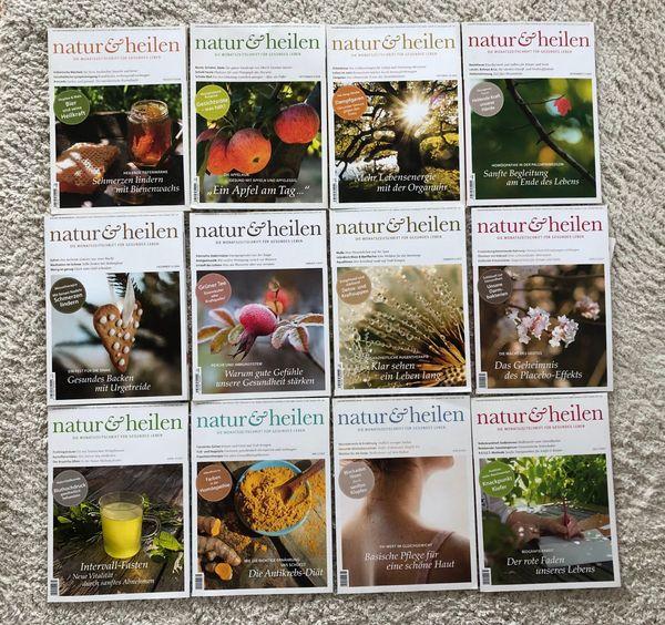 Natur und Heilen Zeitschriften 16
