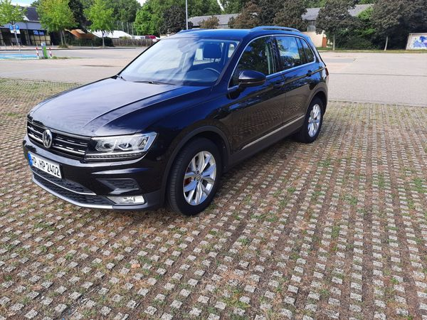 VW Tiguan Highline 4Motion Technology