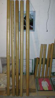 Rundhölzer Hartholz Buche - verschiedene Längen