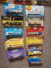 Viele verschiedene Lkw
