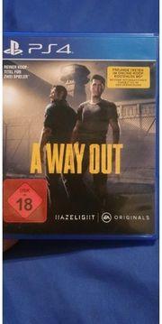 A way out ps4 Rarität