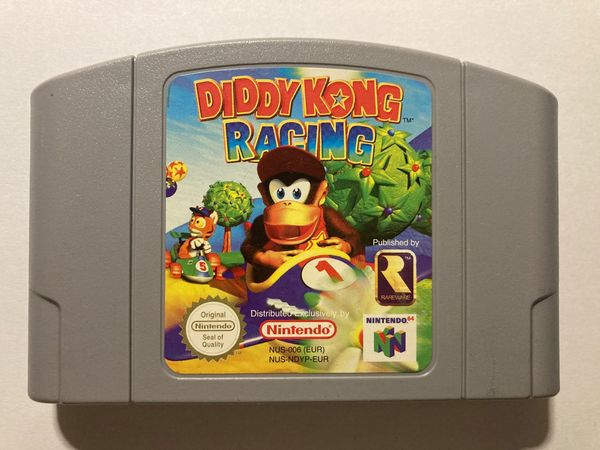 Diddy Kong Racing Nintento 64