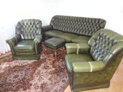 Chesterfield Sofagarnitur 1 Sofa 2