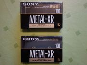 2 x Sony Metal-XR 100