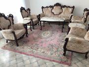 Couch Sofa Sessel Tische im
