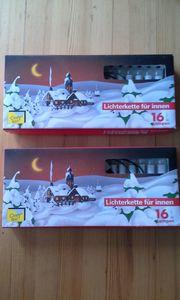32 Christbaumkerzen Weihnachtsbaumbeleuchtung Lichterkette