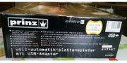Vollautomatik Plattenspieler mit USB Adapter