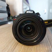 Nikon Spiegelreflexkamera D5200 Korpus und
