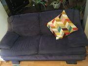 2-Sitzer Sofa Blau