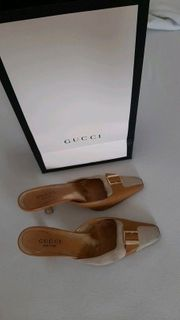 Gucci Damen High-Heels Pumps braun