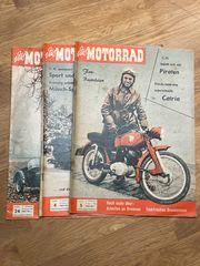 Das Motorrad 1958 Konvolut