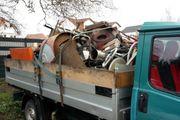 Kostenlose Schrottabholung - Transport - Demontage - Abriss -